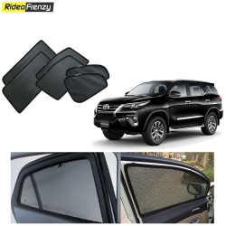 Buy New Toyota Fortuner Magnetic Car Window Sunshade-6pcs at low prices-RideoFrenzy