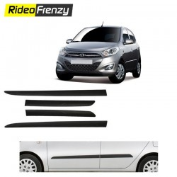 Buy Original Hyundai i10 Matt Black Side Beading at low prices-RideoFrenzy