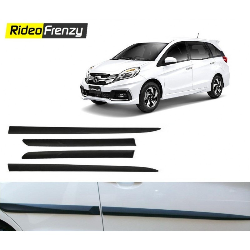 Original Matt Black Honda Mobilio Side Beading
