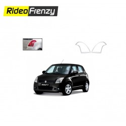 Buy Maruti Swift Old Chrome Tail Light Covers at low prices-RideoFrenzy