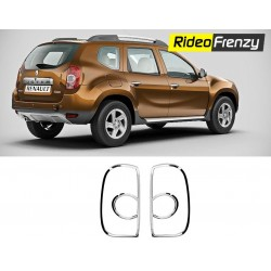 Buy Renault Duster Chrome Tail Light Cover at low prices-RideoFrenzy