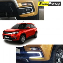 Buy Vitara Brezza POWER LED DRL Day Time Running Lights at low prices-RideoFrenzy