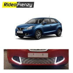 Buy Maruti Baleno POWER Led DRL Day Time Running Lights at low prices-RideoFrenzy