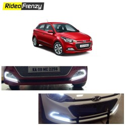 Buy Hyundai Elite i20 Power LED DRL-Day Time Running Lights at low prices-RideoFrenzy