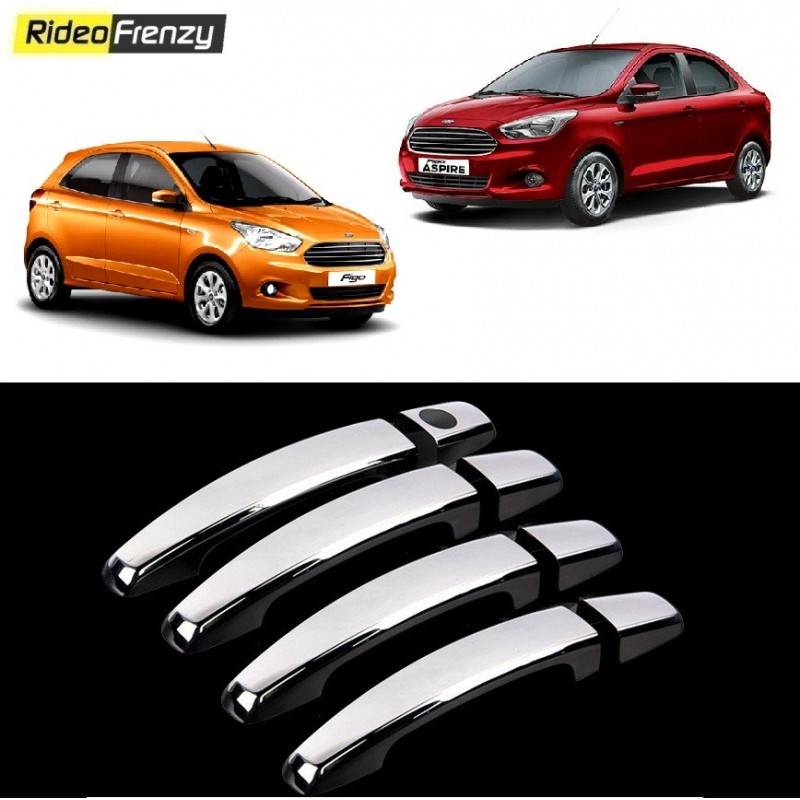 Buy Door Chrome Catch/Handle Cover for Figo Aspire/New Figo at low prices-RideoFrenzy