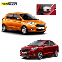 Buy Figo Aspire/New Figo Chrome Mirror Covers at low prices-RideoFrenzy