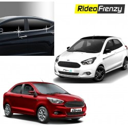 Buy Figo Aspire/New Figo Chrome Lower window garnish at low prices-RideoFrenzy
