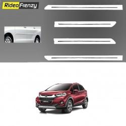 White Chromed Side Beading for Honda WRV