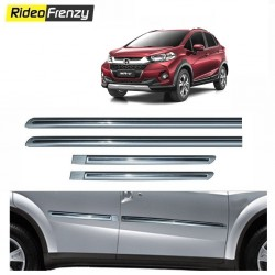 Buy Honda WRV Silver Chromed Side Beading online at low prices-Rideofrenzy