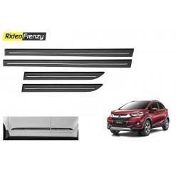 Buy Honda WRV Black Chromed Side Beading online at low prices-RideoFrenzy