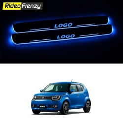 Buy Maruti Ignis 3D Power LED Illuminated Sill/Scuff Plates at low prices-RideoFrenzy