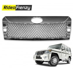 Buy Mahindra Bolero 2011 Chrome Grill Covers at low prices-Rideofrenzy
