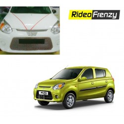 Buy New Model Maruti Alto 800 Chrome Grill Covers at low prices-RideoFrenzy