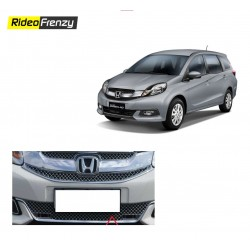 Buy Super Glossy Honda Mobilio Chrome Grill Covers (upper+lower) at low prices-RideoFrenzy
