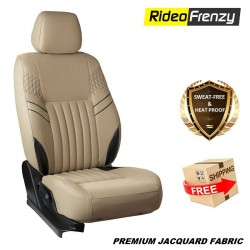 Buy Sweat proof Fabric Car seat covers online at low prices-RideoFrenzy