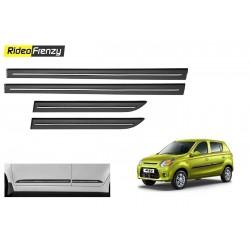 Buy Maruti Alto 800 Black Chrome Side beading at low prices-RideoFrenzy