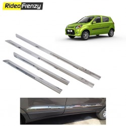 Buy Triple Layered New Alto 800 Chrome Side beading at low prices-RideoFrenzy