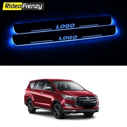 Buy Innova Crysta 3D Power LED Illuminated Sill/Scuff Plates at low prices-RideoFrenzy