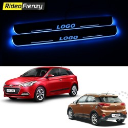 Buy Hyundai Elite i20 & Active 3D Power LED Illuminated Sill/Scuff Plates at low prices-RideoFrenzy