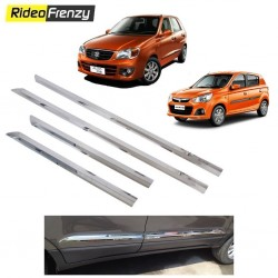 Buy Triple layered Maruti Alto K10 Chrome Side Beading at low prices-RideoFrenzy