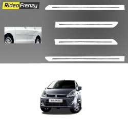 Buy Maruti Zen Estilo White Chrome Side beading at low prices-RideoFrenzy