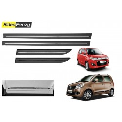 Buy Maruti WagonR Stingray Black Chrome Side beading online at low prices-RideoFrenzy