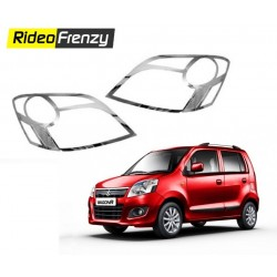 Maruti WagonR Chrome HeadLight online-RideoFrenzy