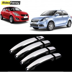 Buy Maruti Swift & Dzire Door Chrome Handle Covers online at low prices-RideoFrenzy