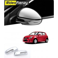 Buy Maruti Swift old model Chrome Mirror Covers online at low prices-RideoFrenzy