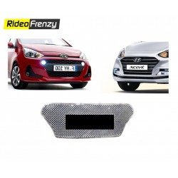 Hyundai Grand i10 & Xcent Chrome Grill Covers-Latest 2017 model