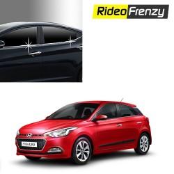 Buy Hyundai Elite i20 Chrome Lower window garnish at low prices-RideoFrenzy