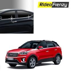 Buy Hyundai Creta Chrome Lower window garnish at low prices-RideoFrenzy