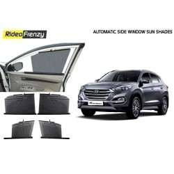 Buy Hyundai Tucson Automatic Side Window Sun Shades online at low prices-RideoFrenzy