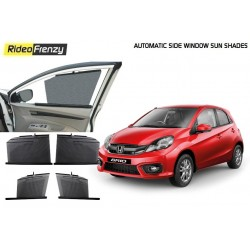 Buy Honda Brio Automatic Side Window Sun Shades online at low prices-RideoFrenzy