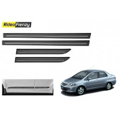 Buy Honda City Zx Black Chromed Side Beading online at low prices-RideoFrenzy