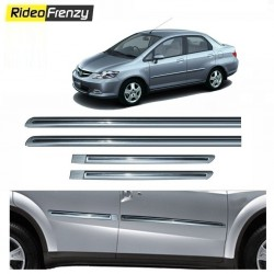 Buy Honda City Zx Silver Chromed Side Beading online at low prices-Rideofrenzy