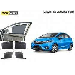 Buy New Honda Jazz Automatic Side Window Sun Shades online at low prices-RideoFrenzy