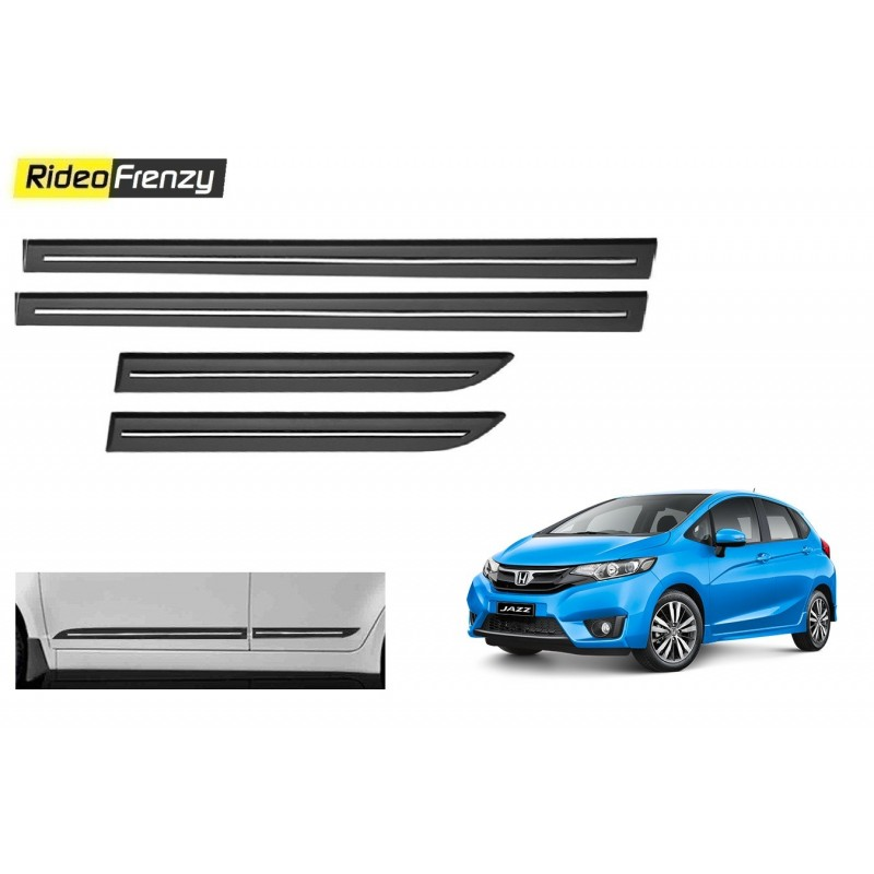 Buy Honda Jazz Black Chromed Side Beading online at low prices-RideoFrenzy