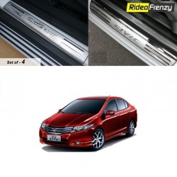 Buy Honda City Ivtec Door Stainless Steel Sill Plates online at low prices-RideoFrenzy