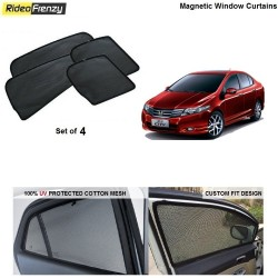 Buy Honda City 2009-2013 Magnetic Car Window Sunshades online at low prices-RideoFrenzy