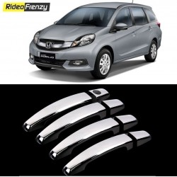 Buy Honda Mobilio Door Chrome Handle Covers online at low prices-RideoFrenzy