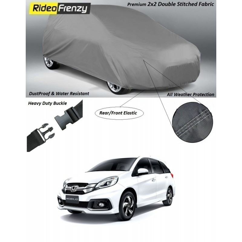 Buy Heavy Duty Honda Mobilio Car Body Cover online at low prices-RideoFrenzy