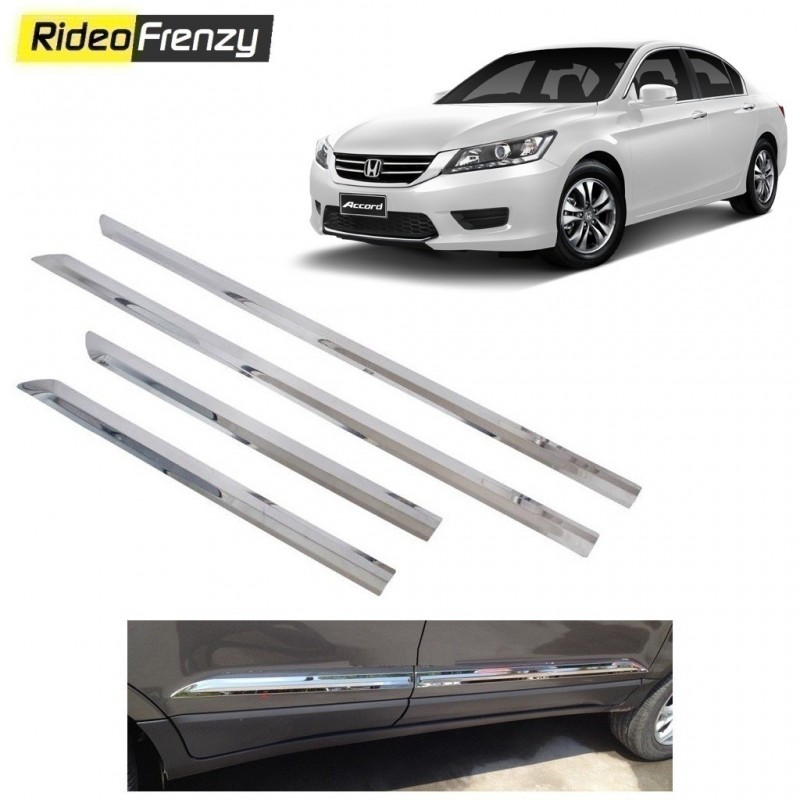 Buy Stainless Steel Honda Accord Chrome Side Beading online at low prices-RideoFrenzy