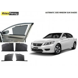 Buy Honda Accord Automatic Side Window Sun Shades online at low prices-RideoFrenzy