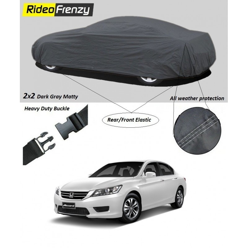 Buy Heavy Duty Honda Accord Car Body Cover online at low prices-RideoFrenzy