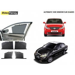 Buy Tata Indica Vista/Manza Automatic Side Window Sun Shades online at low prices-RideoFrenzy