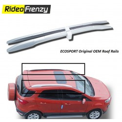 Buy Ford Ecosport Original Roof Rails online at low prices-RideoFrenzy