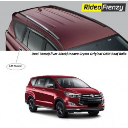 Buy Innova Crysta Original Roof Rails Online at low prices-RideoFrenzy