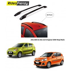 Buy Alto 800 & Alto K10 Original Roof Rails Online at low prices-RideoFrenzy