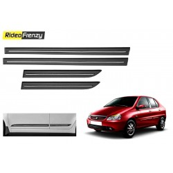 Buy Tata Indigo Black Chromed Side Beading online at low prices-RideoFrenzy